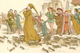 Image result for pied piper of hamelin and rats