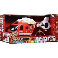 <b>Пожарный вертолет Roadsterz</b> 38см - <b>HTI</b> (JCB) - Город игрушек