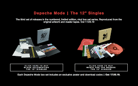"<b>Depeche Mode</b> | The 12"" Singles Box Sets 