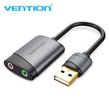 <b>VENTION 3.5mm</b> External USB <b>Sound</b> Card <b>Audio</b> Adapter USB to ...