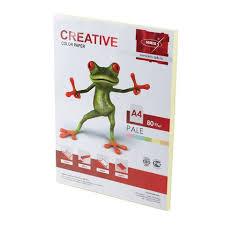 169 ₽ — <b>Бумага CREATIVE color</b> (<b>Креатив</b>) А4, 80 г/м2, 100 л ...