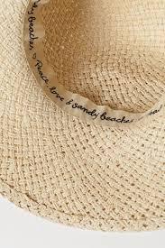 <b>Соломенная шляпа</b> - Cветло-бежевый - Женщины | H&M RU
