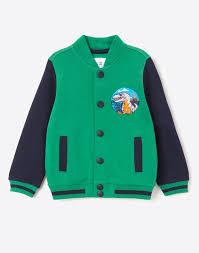 Толстовка-<b>бомбер с</b> вышивкой для мальчика BAC007659-1 ...