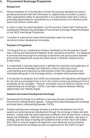 procurement competence career path framework pdf secondment or on a permanent basis a view to promoting opportunities for secondment as a