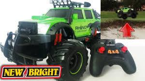 New Bright <b>RC Remote Control</b> Monster Rhino 4x4 <b>All Wheel Drive</b> ...