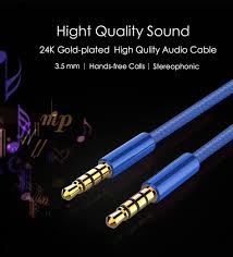 <b>WMZ</b> Audio Cable 3.5mm Jack 3.5 Aux Cable for iPhone Samsung ...