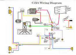 cja volt wiring conversion diagram cja discover your wiring cj2a 12v wiring diagram cj2a auto wiring diagram schematic