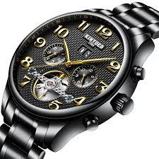 <b>KINYUED KINYUED</b> JYD-J013 <b>Automatic Mechanical</b> Watch ...
