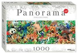 <b>Пазл Step</b> puzzle Panorama Мир животных (79402), <b>1000</b> дет ...
