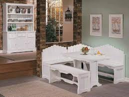 white awesome corner breakfast nook furniture breakfast nook furniture ideas