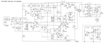 circuit dia s complete circuit diagram early models