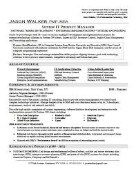 resume examples  leadership resume examples resume templates    leadership resume examples for senior it project manager   areas of expertise and accomplishments