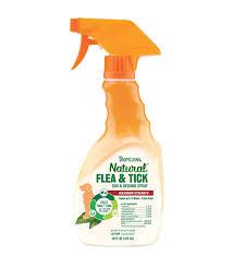<b>TROPICLEAN</b> Natural Flea and Tick <b>Maximum Strength Spray</b> for ...