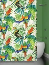 <b>Шторка Bath Plus Branches</b> of Bird 180x180cm ch 21272 - ElfaBrest