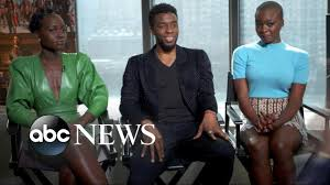 'Black Panther' stars on the power of telling a story from a black ...