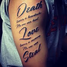 20 ideas of love quote tattoo designs via Relatably.com