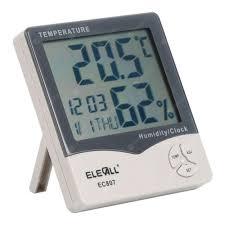 ELECALL EC807 <b>Digital</b> Thermometer Hygrometer Electronic <b>LCD</b> ...