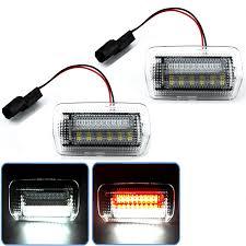 <b>2x</b> Double color LED <b>door</b> light <b>warning</b> light for Toyota and lexus ...