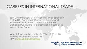 careers in international trade inta undergraduate advising blog careers in international trade