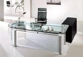 glass office desk 5 amazing glass office desks
