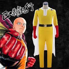 2018 High quality <b>ONE PUNCH MAN Cosplay</b> costumes Super hero ...