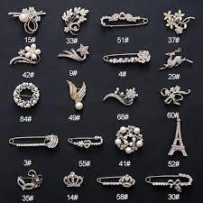 2019 MLJY <b>Crystal</b> Brooch 20 Styles <b>Large Vintage Female</b> Pins ...