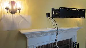 Hide Tv In Wall Concealing Wires For Wall Mounted Tv Facbooikcom