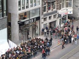 forever 21 jobs glassdoor forever 21 photo of new store opening brings a big crowd