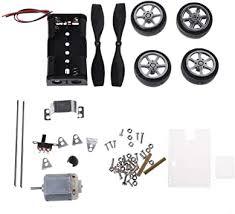 beioust <b>130</b> Brush Motor <b>Mini Wind</b> Puzzle Toy DIY <b>car</b> Motor Robot ...