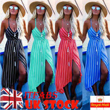 Plus Size Striped Party Maxi Dresses for <b>Women</b> | eBay
