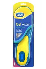<b>Scholl</b> (шолль) gelactiv <b>стельки для комфорта</b> на каждый день ...