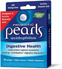 Probiotic Pearls Acidophilus Once Daily Probiotic ... - Amazon.com