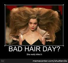 Bad Hair Day? by shutterclix - Meme Center via Relatably.com