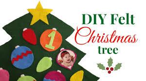 Easy DIY <b>Felt Christmas Tree</b> for Toddlers! - YouTube