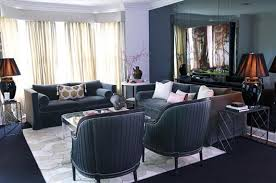 asian living room  elegant black white asian living room
