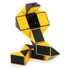 ShengShou <b>Magic</b> Snake Ruler Puzzle <b>24</b>-<b>Pieces</b> Yellow_Non ...