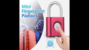 <b>KERUI P3 Mini Anti theft</b> Intelligent Smart Security Fingerprint ...