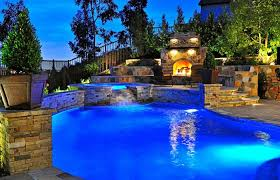 full size of swimming pool beautiful backyard pool with outdoor living area fireplace feature romantic lighting beautiful lighting pool