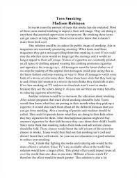 Essay on Smoking Digimerge Online Account