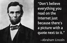 Quotes on The Internet Abraham Lincoln images