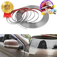 3M Chrome Decor Strip Moulding Trim Car Body Windows Sticker ...