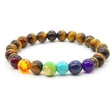 Mayting <b>Natural Tiger Eye Stone</b> Bracelet 8MM Semi-Precious ...