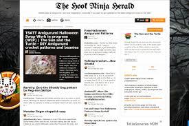 the hook ninja herald amigurumi pattern online newspaper the hook ninja herald is a weekly online newspaper about amigurumis and crochet curated by the