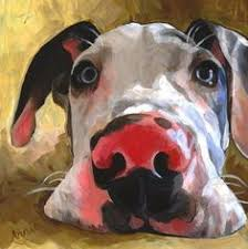 <b>917</b> Best Paint Dog images | Dog art, Dog paintings, Dog portraits