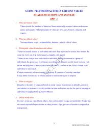 professional ethics objectives pdf