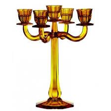 Candleholder Nachtmann <b>Ravello 5</b>-Armed Amber 30 sm ...