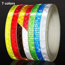 <b>Reflective Tape Fluorescent</b> Stickers Adhesive Tape Bike Stickers ...
