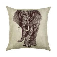 Фотографии <b>Подушка</b> Berni <b>Indian</b> Elephant <b>декоративная 45 х 45</b> ...