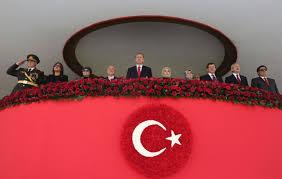 Αποτέλεσμα εικόνας για φωτο εικονες ερντογαν και προεδρικου μεγαρου