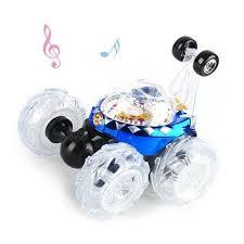 <b>Радиоуправляемая машина</b>-перевертыш <b>Ren</b> Da музыкальная ...
